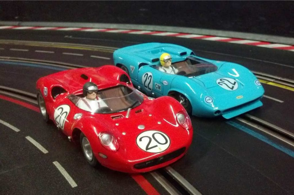 Most 1960's slot cars were fairly accurate models of the real cars. These survivors still run well today. Not fast , but very fun!