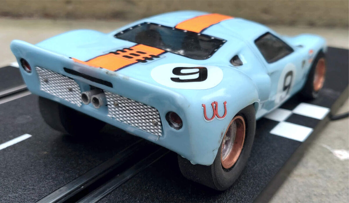Slot Car Heroes handmade Ford GT40 shows a passion for slot cars